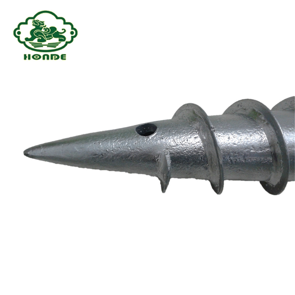 Green Ground Screw Thread Size
