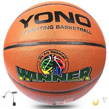 2017 melhor qualidade de basquete laranja basquete de couro pvc no atacado grosso de basquete