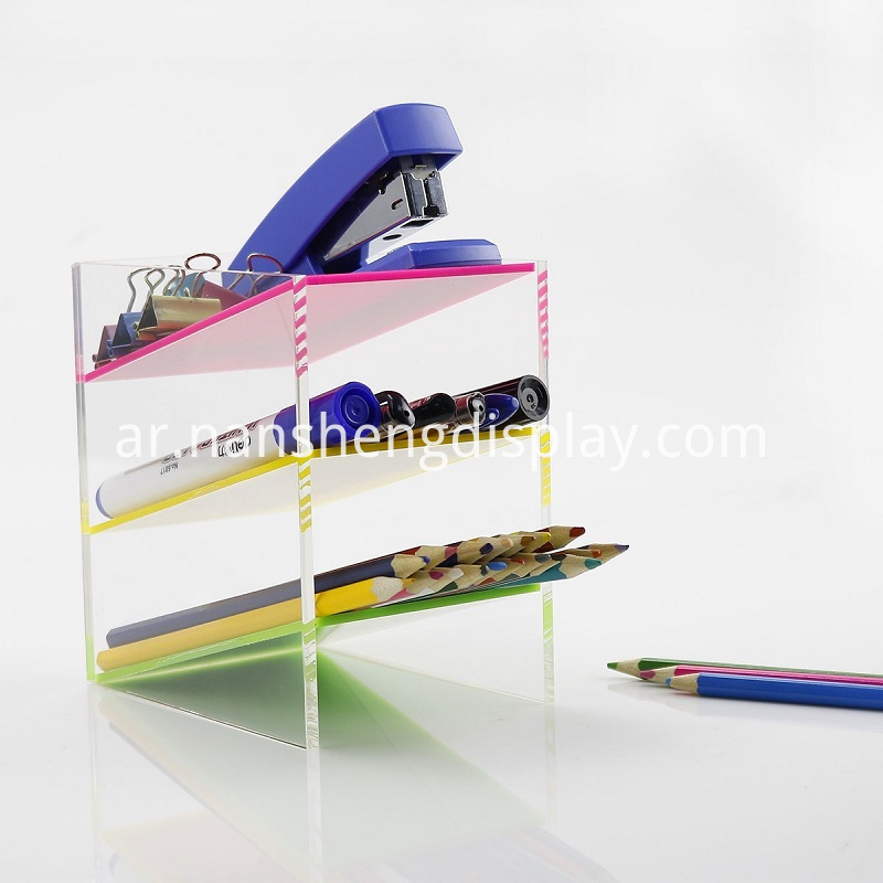 Acrylic Colored Pencil Display