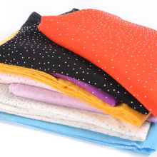 Inner Mongolia manufacturers design wool cashmere blended worsted shawl SCD0026 Lady Elegant scarf drilling
