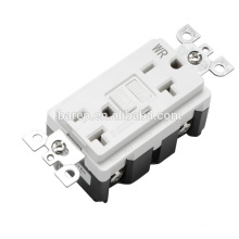BAS-003WR Household american wall sockets 20A 1LED gfci receptacles