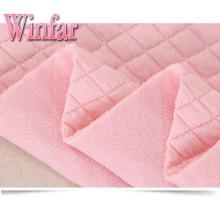 Розовая жаккардовая ткань для платья