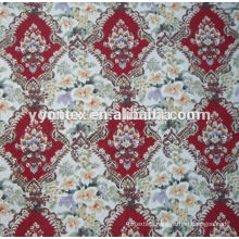 Rotary Screen Printing Floral Cotton Fabric
