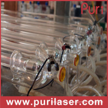High Power High Cutting Speed ​​150W CO2 Laser Tube à vendre