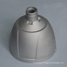 Boîtier de pièces d'éclairage à LED en aluminium