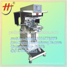 hot sale price of HP-160BYN Pneumatic 2 colors ink cup clothing tag pad printing machine