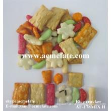 Biscoito de arroz frito japonês Snack Food Mix Carker de arroz