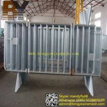 Barrera de tráfico galvanizado de alta calidad