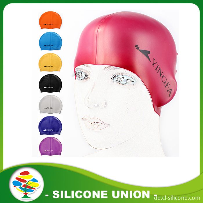 Milticolor swimming cap modle