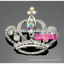latest fashion crystal tiara pin