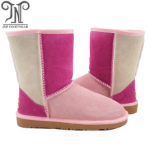Cheapest Price for Womens Leather Winter Boots Custom Women Winter half Sheepskin Boots export to Chile Exporter