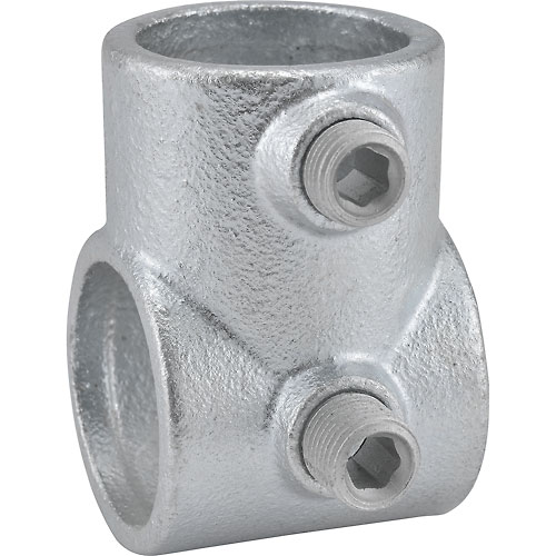 China quick clamp pipe fittings adjustable short tee