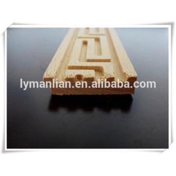 ornamental wood mouldings furniture use beech wood moulding