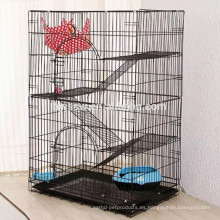 Top Promotions Indoor Large 3 Tiers Wire Cat Mostrar jaulas