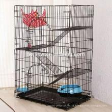 Top Promoções Grandes gaiolas de exibição de gato de 3 níveis de gato