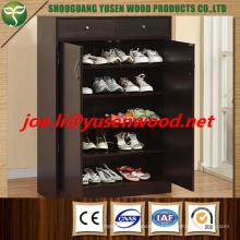 Дешевой Цене Горячая Распродажа Меламин ДСП Шкаф Для Обуви Индивидуальные Размеры