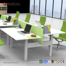 Orizeal adjustable height table, stand up computer desk, standing workstation (OZ-ODKS005)