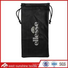 Alta bolsa de las gafas de sol de Microfibre de Quanlity; Bolsa de los vidrios; Bolsa para gafas