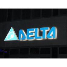 Plein allumé LED Acrylic Channel lettre extérieure signe