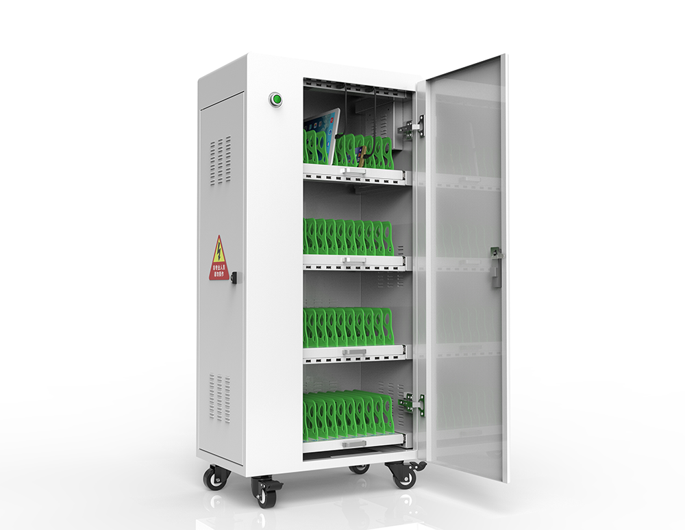 Storage device charging carts