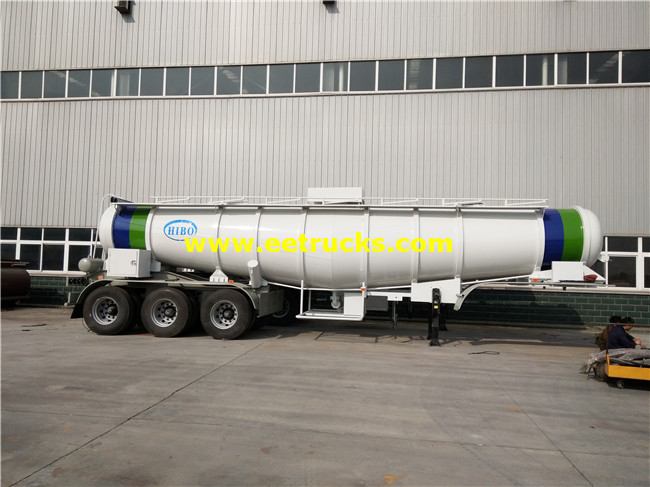 Sulfuric Acid Transport Semi-Trailer