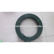 Arame de arame revestido de PVC fio de ferro galvanizado