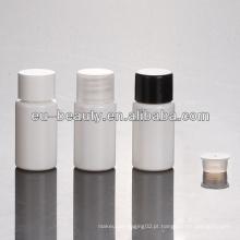 Garrafa de plástico PET de 10ml com tampa de rosca PP