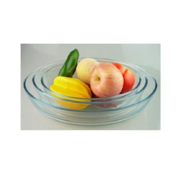 Oval Glass Baking Pan