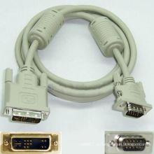Кабель DVI-VGA