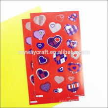Hot sale colorful cute cartoon sticker