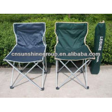 Cadeira de acampamento portátil com 210D carreg o saco, cadeira de dobramento
