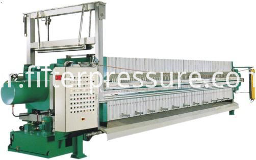Sludge Treatment Filter Press