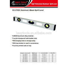 High quality I-BEAM spirit level aluminium level ruler
