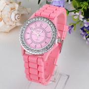 Nieuwste groothandel Student siliconen horloge