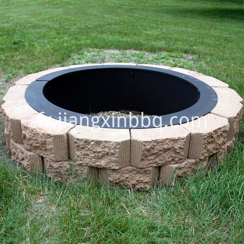 Amazing 34'' Fire Pit Ring Decorating