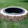 Amazing 34 '' Fire Pit Ring Decorating