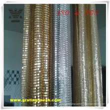 Maille de rideau en acier inoxydable / métal d'approvisionnement d'usine avec le prix bon marché