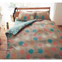 100% полиэстер разогнать печать простыня или одеяло ткани для продажи