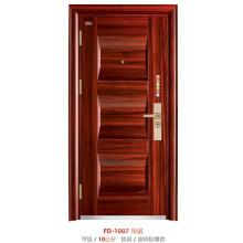 Puerta de seguridad de acero de la puerta