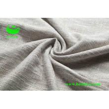 Poliéster Viscose Sofá Tecido de linho Bs6012