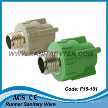 PPR Pipe Fittings with Male Thread (F15-101)