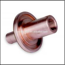 Peças de usinagem CNC de precisão, material de cobre e alumínio de latão, máquinas CNC de 5 eixos
