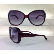 Модные женские деревянные ацетатные солнцезащитные очки P25021A