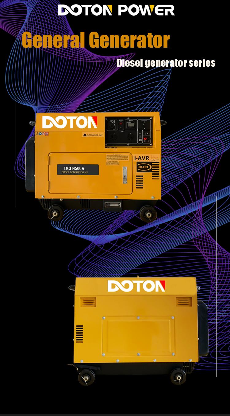 diesel generator 4500w