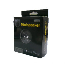 Black mini hamburger speaker