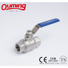 DIN 2PC M3 Ball Valve with Handle