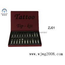 Edelstahl-Tattoo-Tipps Sets (WJWG2009-TNTS)