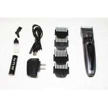 Tosquiadeira de cabelo barato Display de LED recarregável