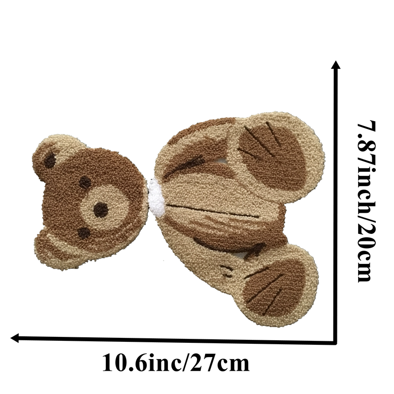 Chenille Bear Embroidery