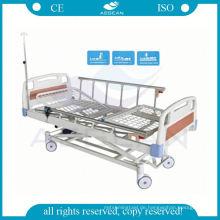 AG-BM106 ABS Kopfteil einstellbar 3 Funktion elektrische Intensivpflege Krankenhausbetten
